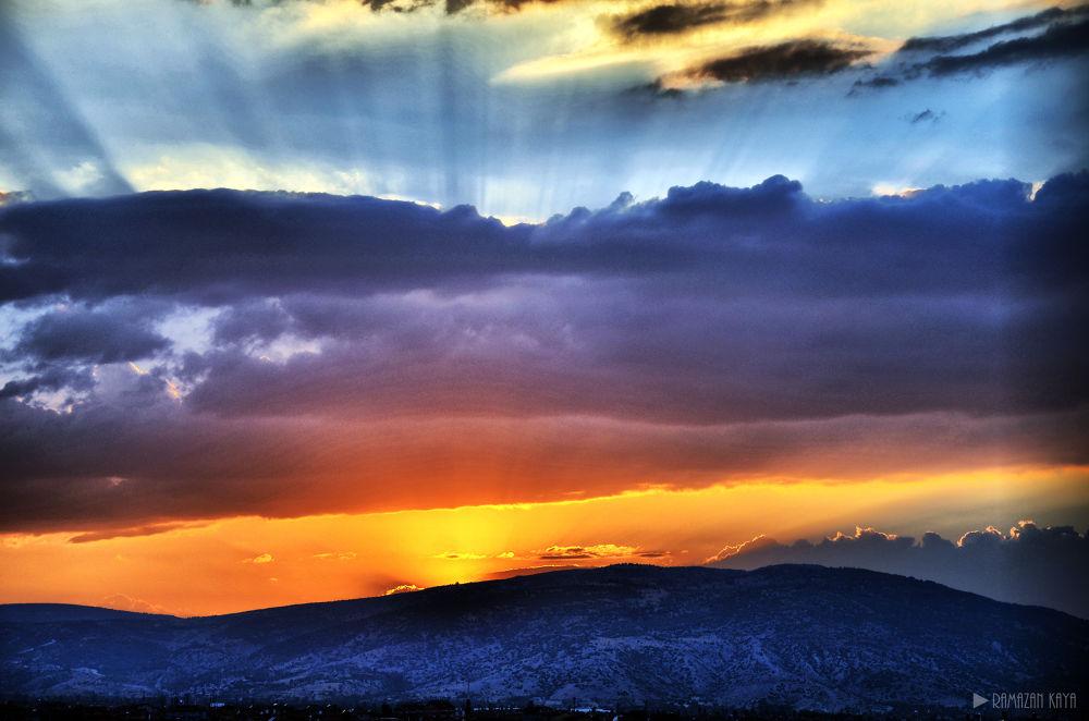 Gün batımı HDR  by Ramazan Kaya