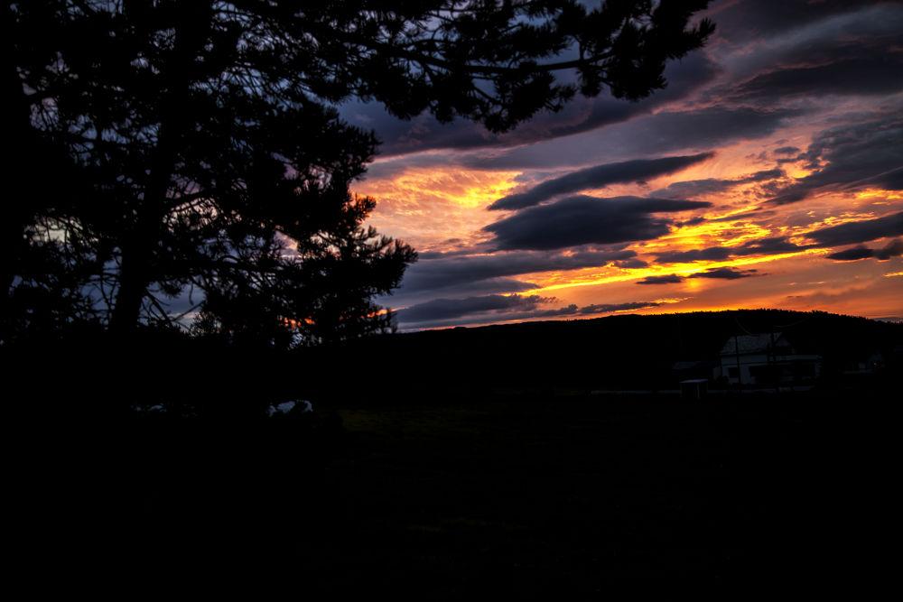 midnight sun in Norway  by hamadajarrar