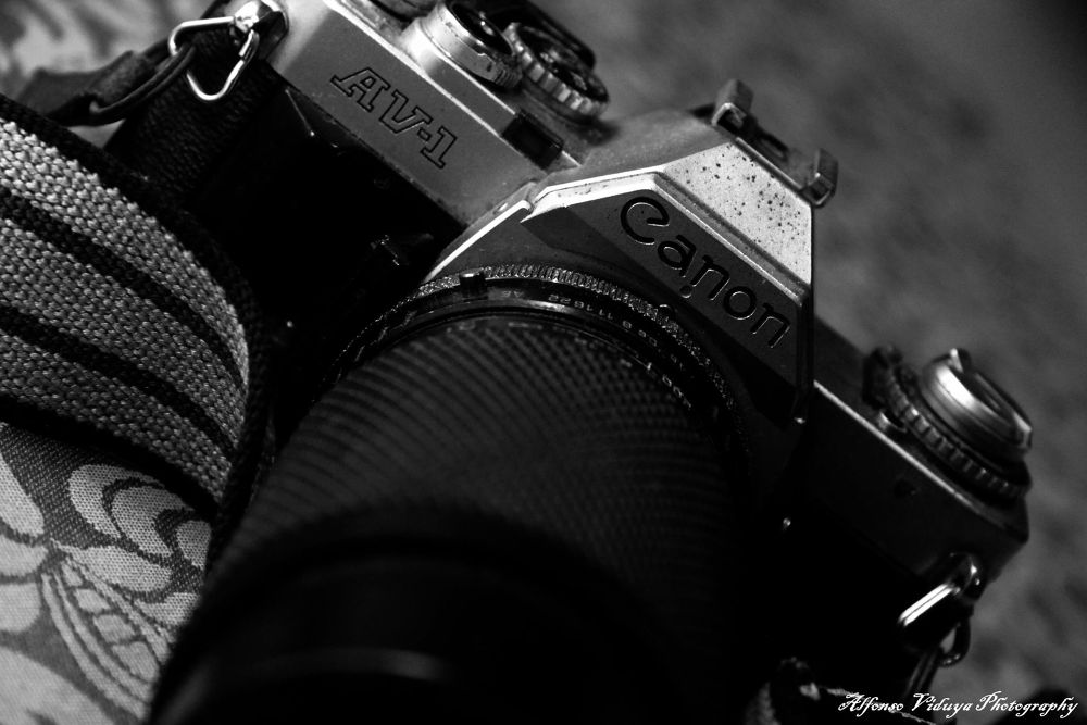 Canon AV-1 https://www.facebook.com/alfonsomathewsviduyaphotography by Alfonso Mathews Viduya