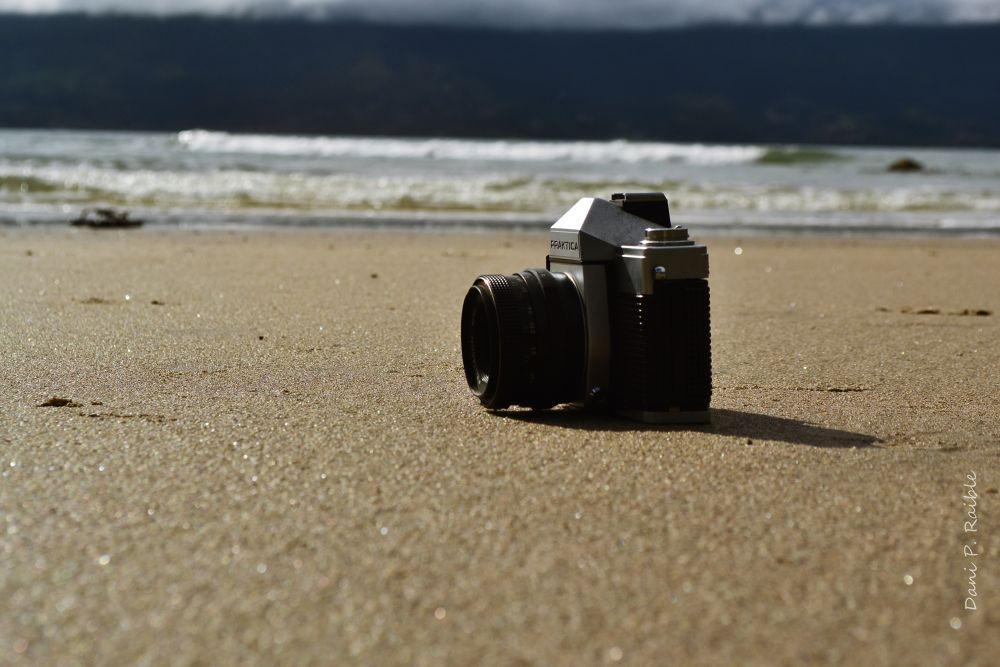 camera and the sea by Dani Raible