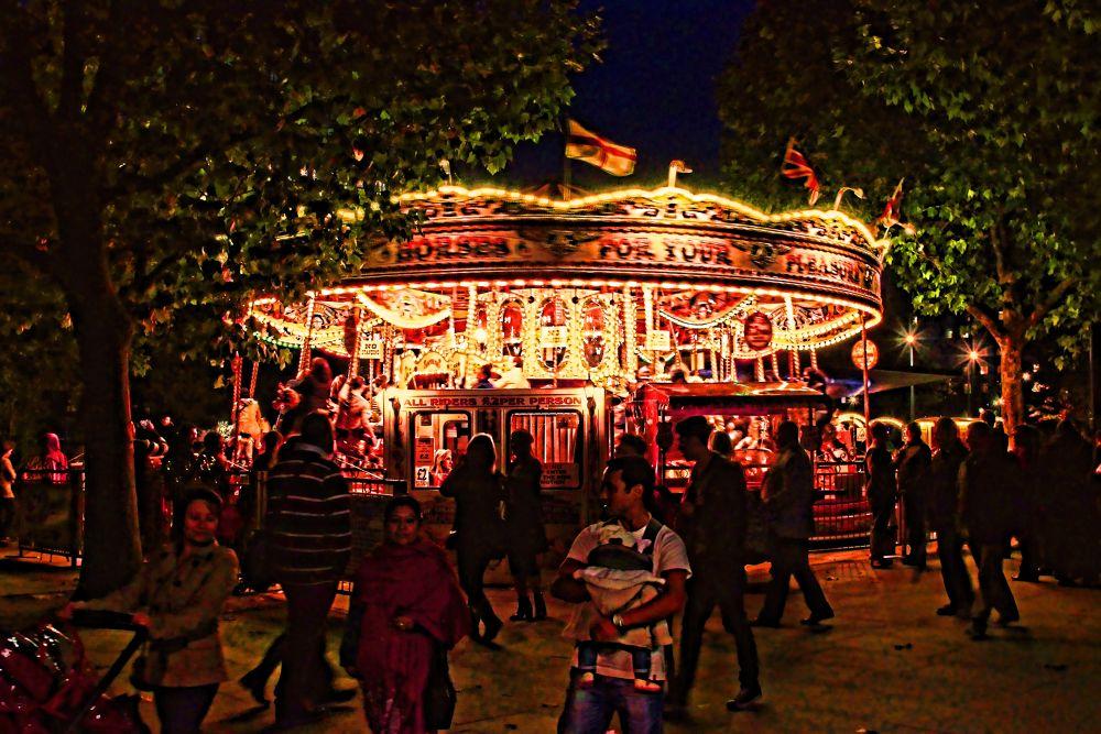 carousel ride by Joaquim Ribeiro