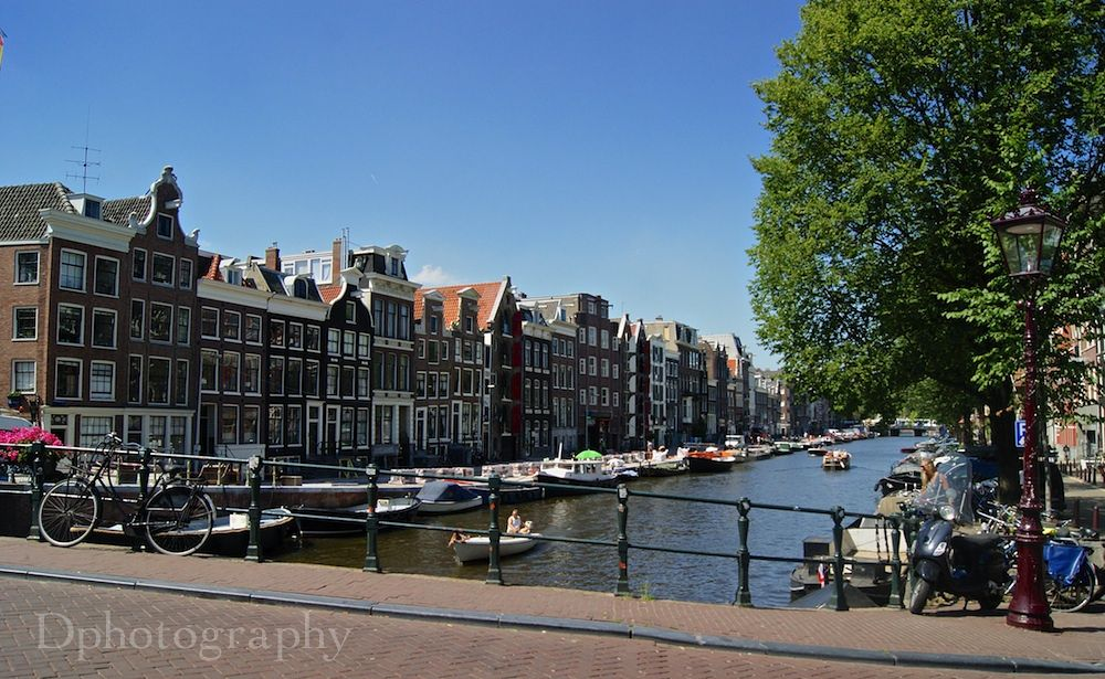 Photo in Architecture #ypa2013 #city #amsterdam #architecture #building #cityscape #canal #sky