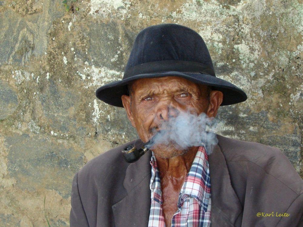 Old Man, Areia, PB, Brazil by Karl Leite