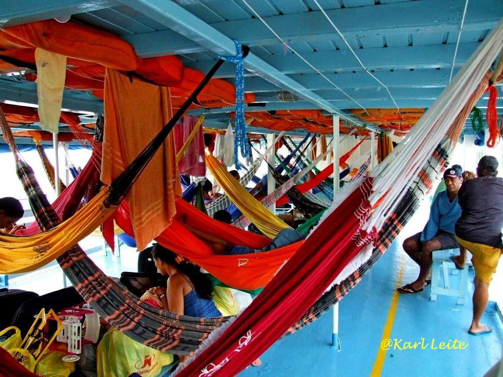 Trip by ship between Macapa/AP to Santarem/PA by Karl Leite