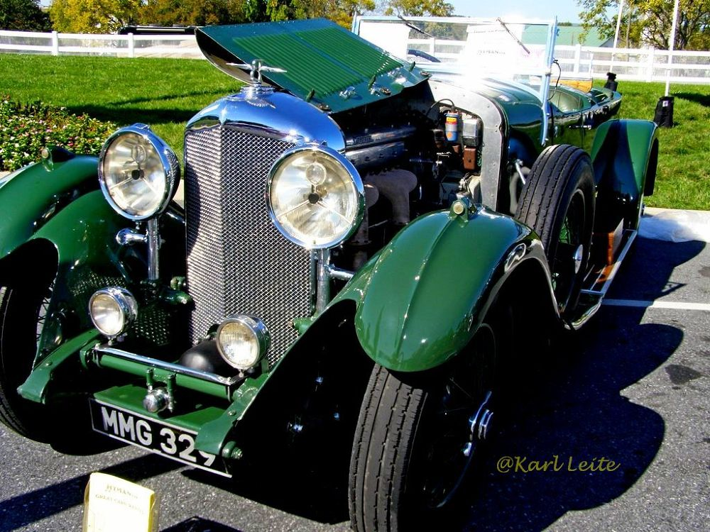 Classic Car, Hershey, PA, USA by Karl Leite