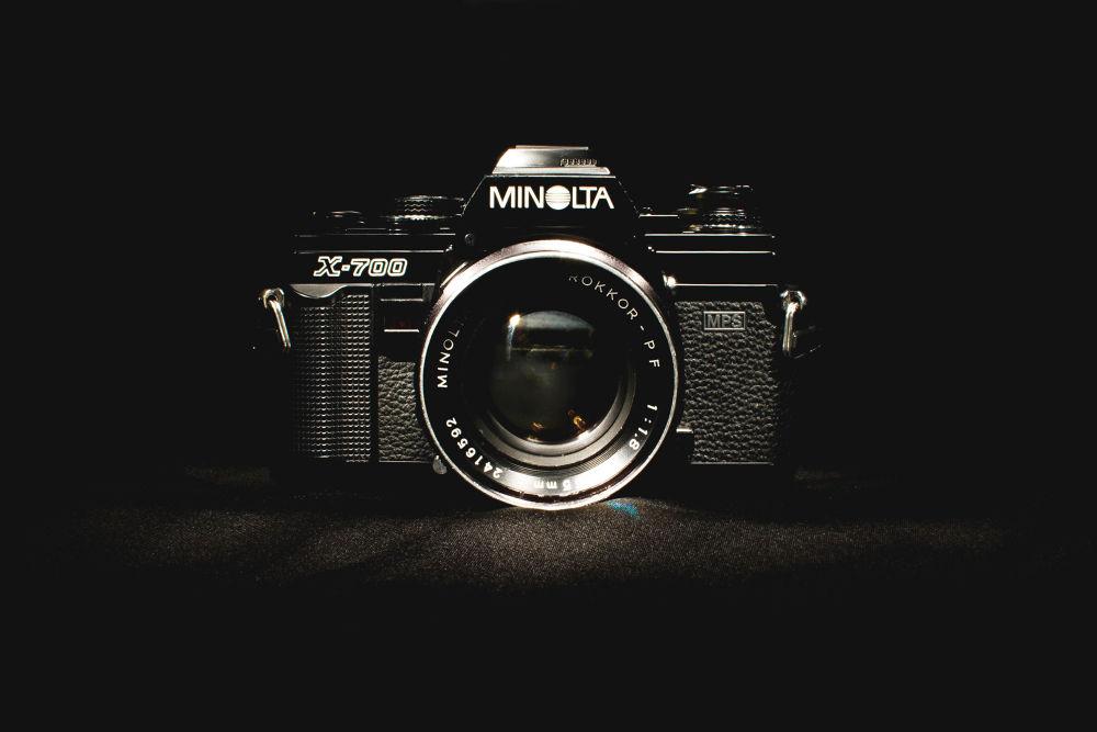 MINOLTA X-700 by evans c. smith