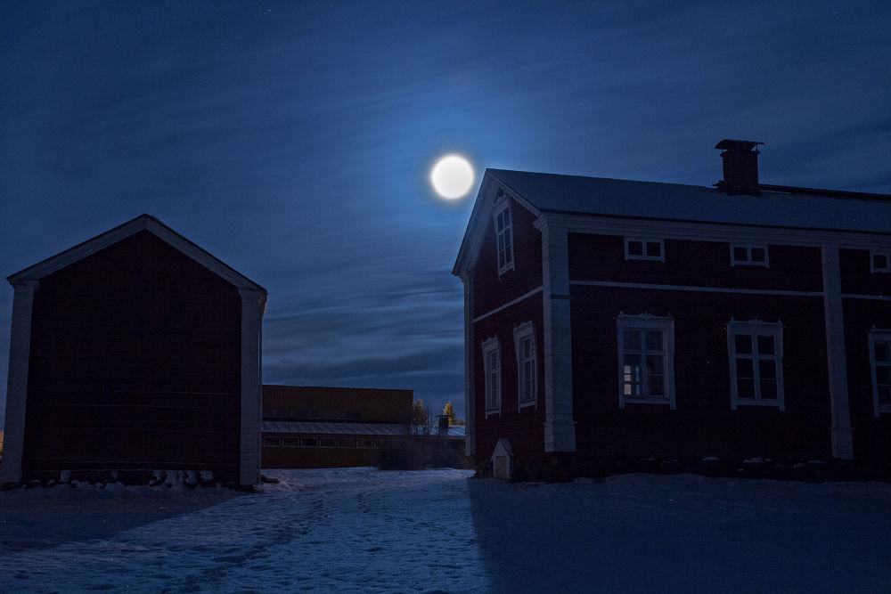 Moon by Anne Talvensaari