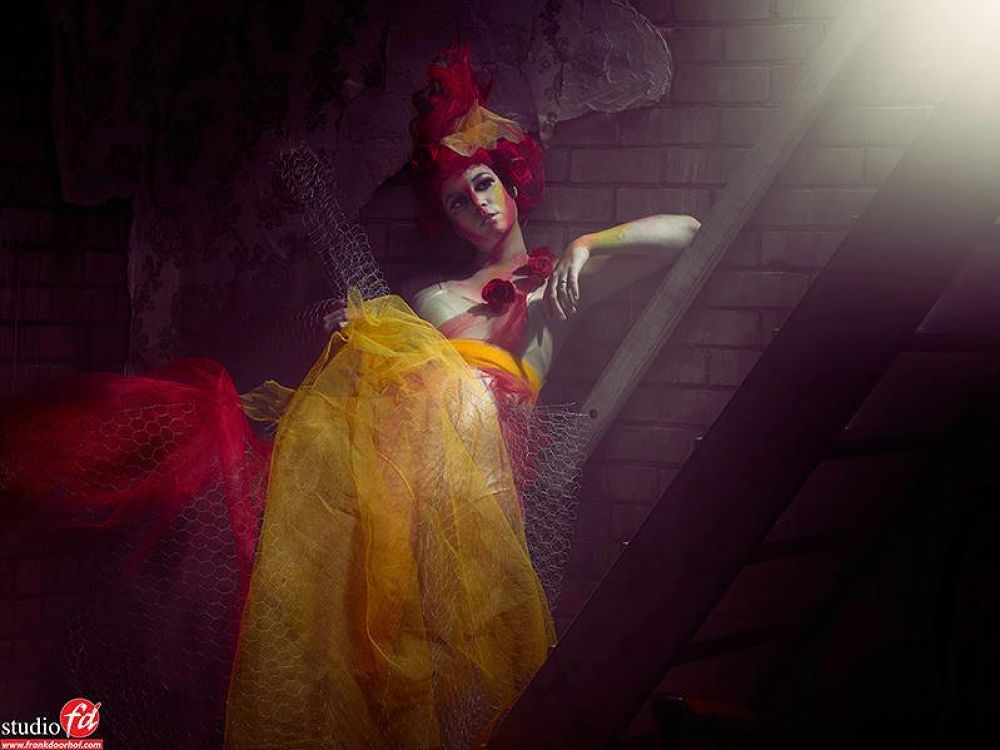 Photography: Frank Doorhof Model: Nadine Stephan Styling/Design/MUA: Nadine Stephan by nadinestephan