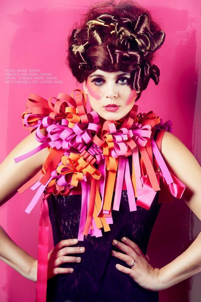 Photography: Gunther Frans Model: Nadine Stephan Styling/ mua/ Design: Nadine Stephan by nadinestephan