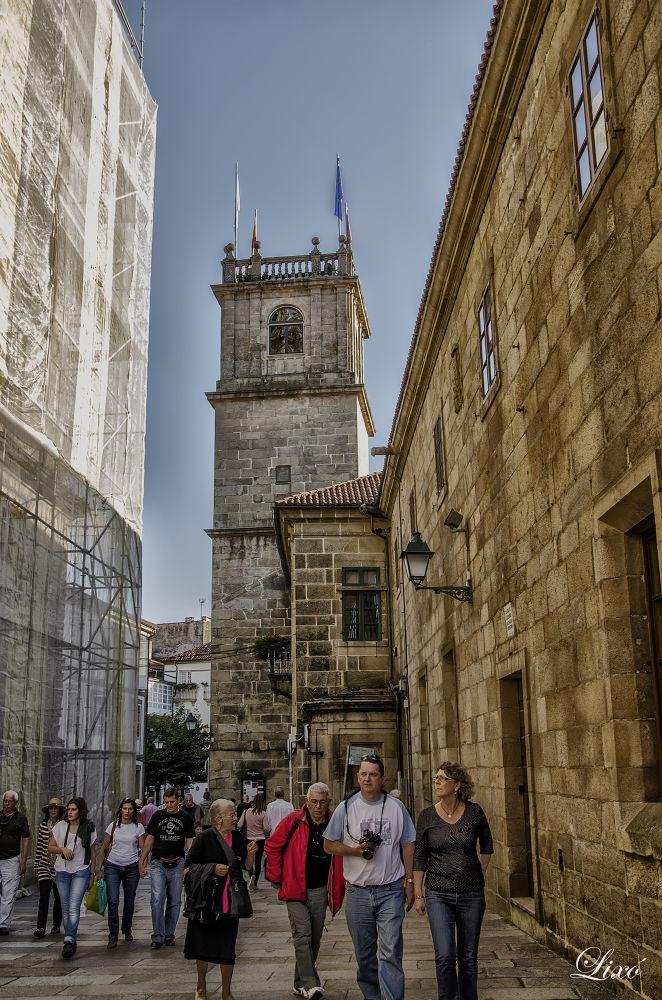 Mis detalles en Santiago de Compostela. by Lixó