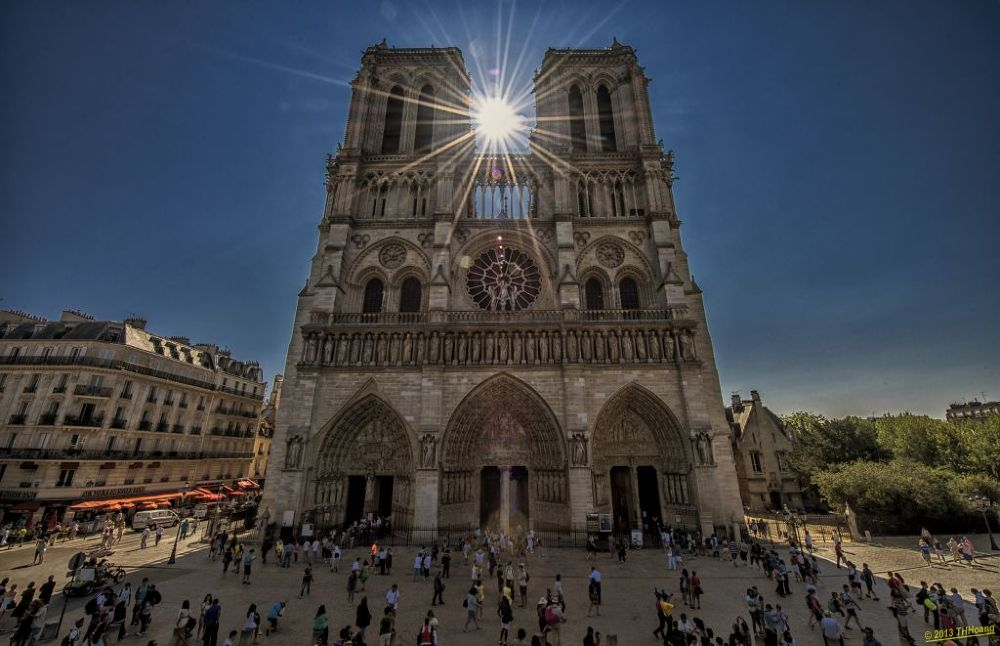 Photo in Architecture #paris #notre dame #travel #tourist #thhoang