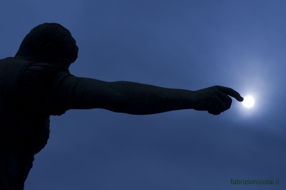touch the sky with a finger by Fabrizio Nicolai