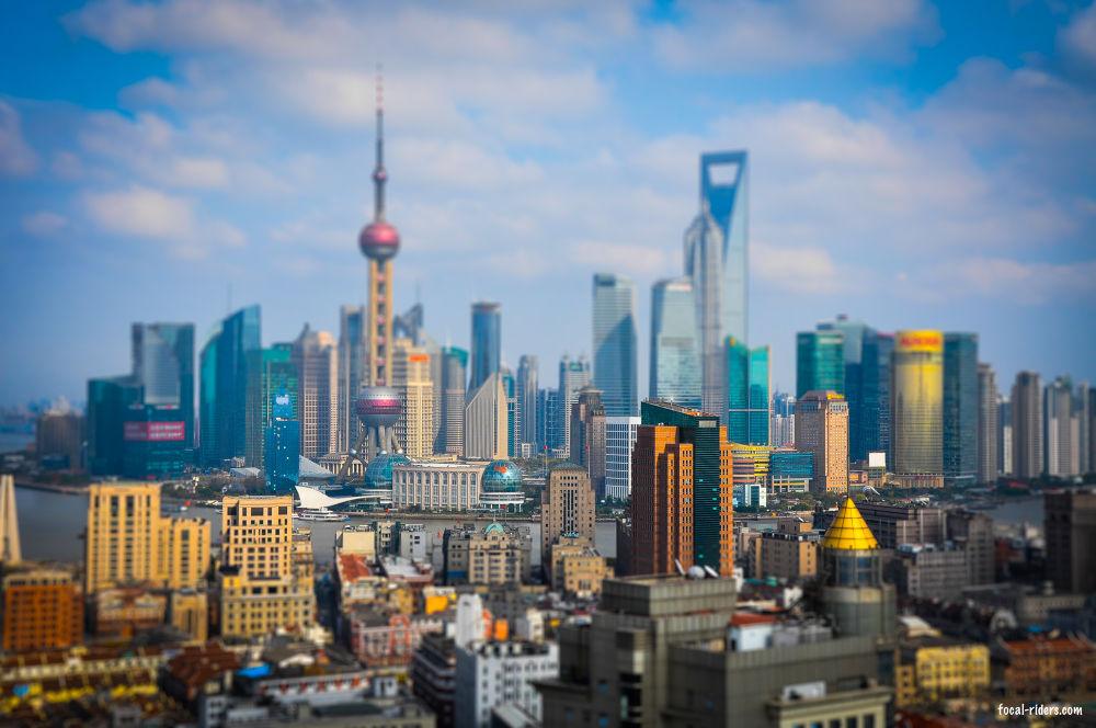 Shanghai is so small ! by Régis Jouvinier