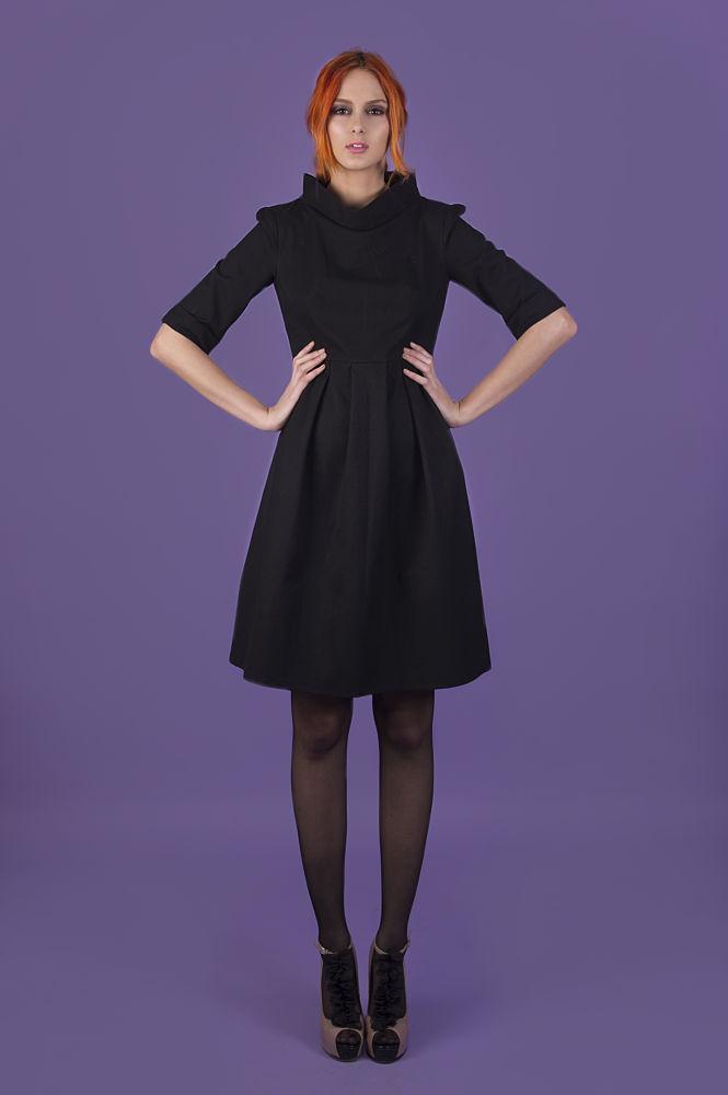 Irene dress - 100% organic cotton - MuMu organic AW13 - www.mumusyros.gr by athenabentila