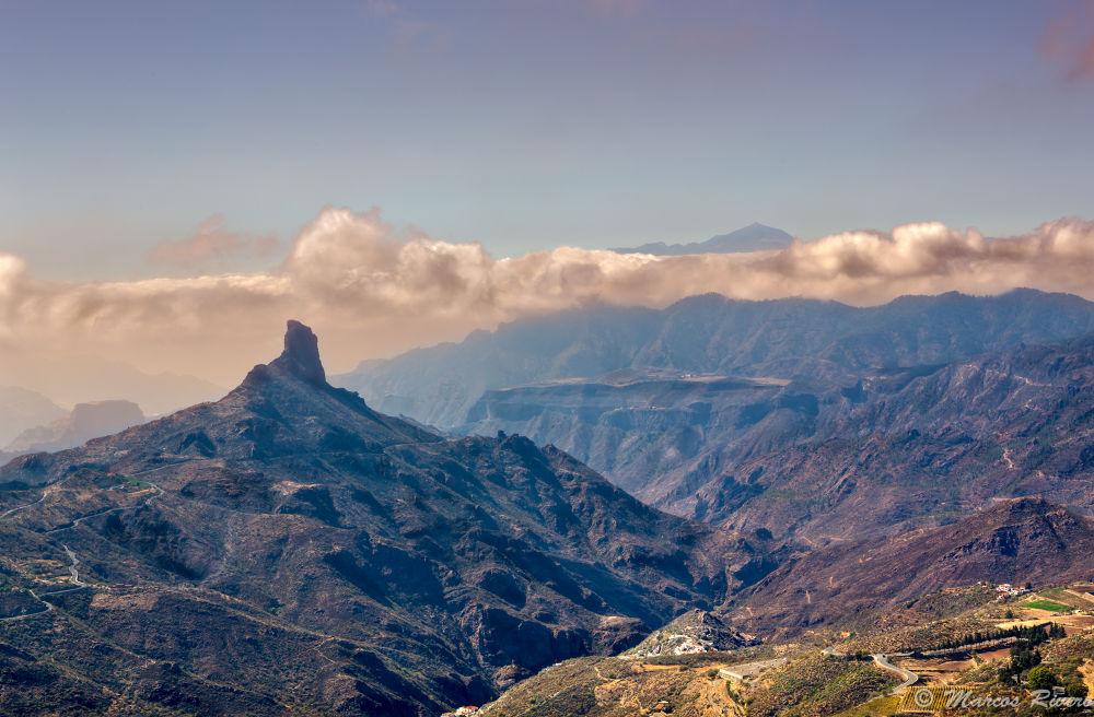 Photo in Landscape #landscape #identity #field #teide #bentayga #roque #sky #photo #symbol #paisaje #identidad #foto #paradise #islas canarias #canary islands