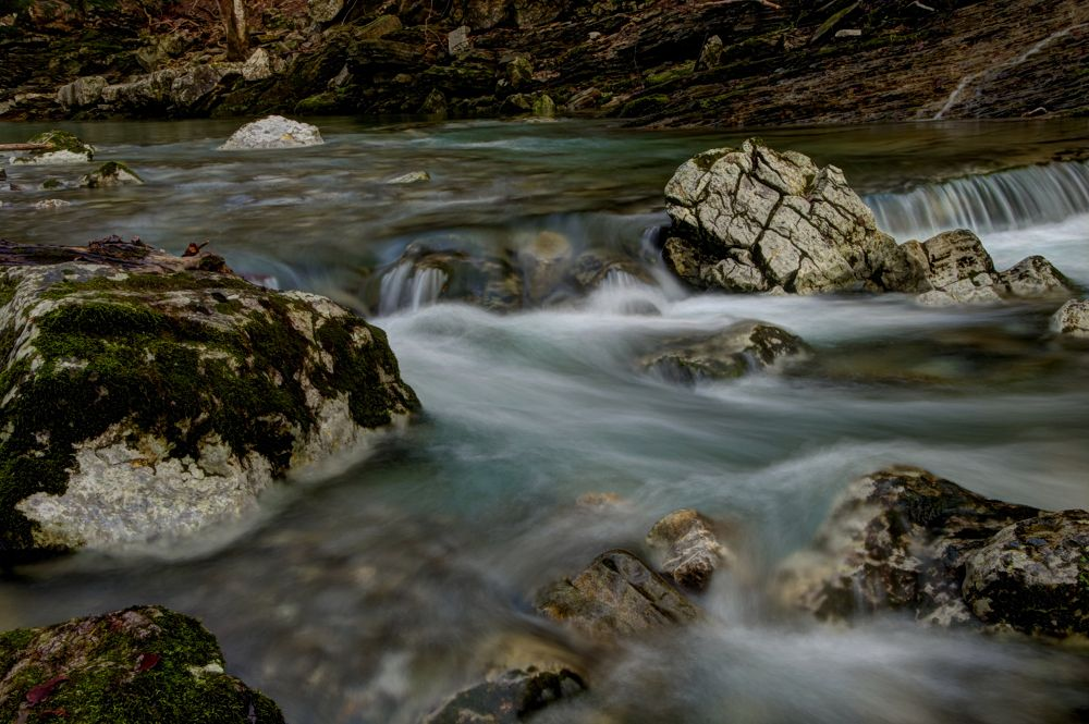water stream by Luca Marcato
