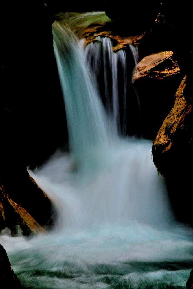 Photo in Random #fall #water #stream