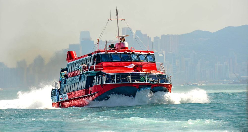 Jet turbo Hong Kong to Macau by josephmichalak1