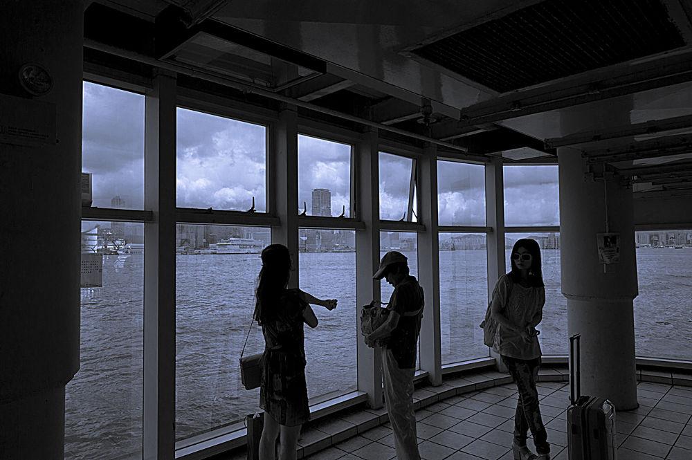 Urban Hong Kong Ferry by josephmichalak1
