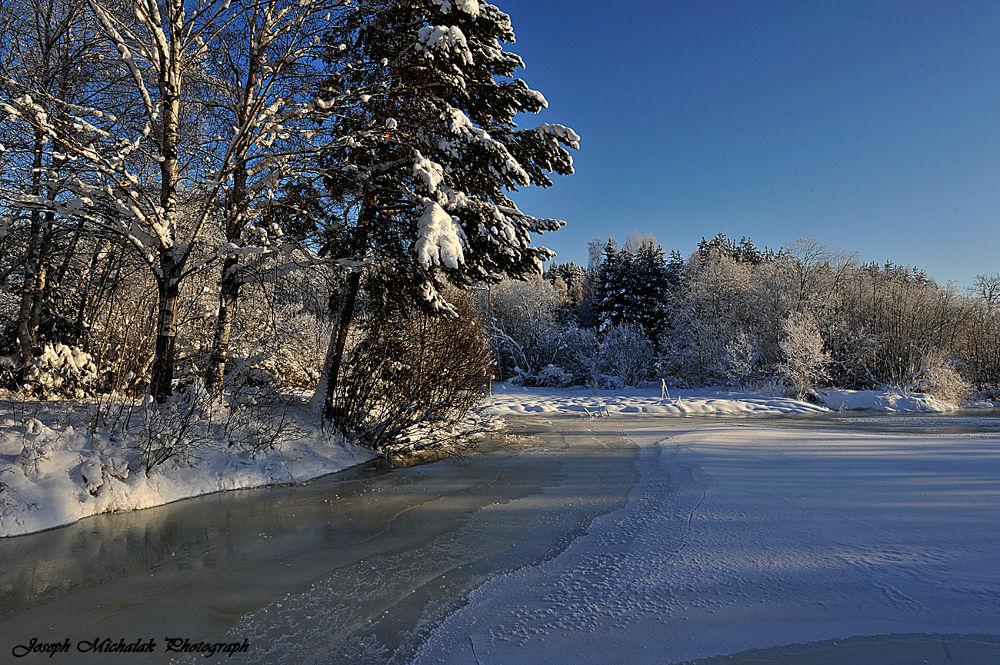 Beautiful winter landscap 2 by josephmichalak1