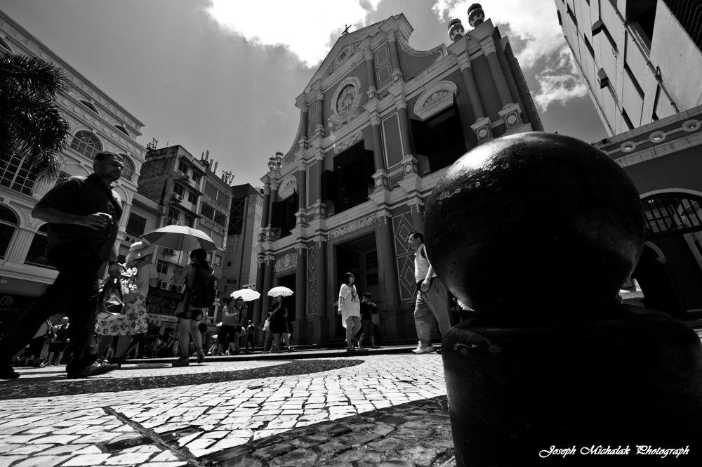 Gate City in Macau. by josephmichalak1