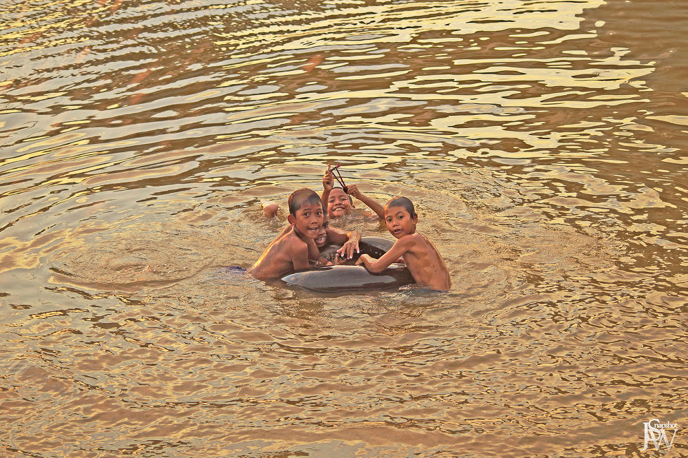 Photo in Random #swim #river #kids #activity