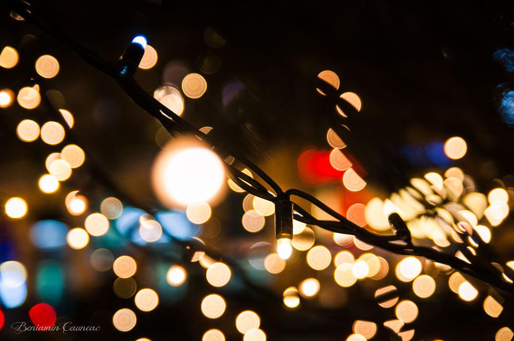 Blurred Lights II by beniamincauneac