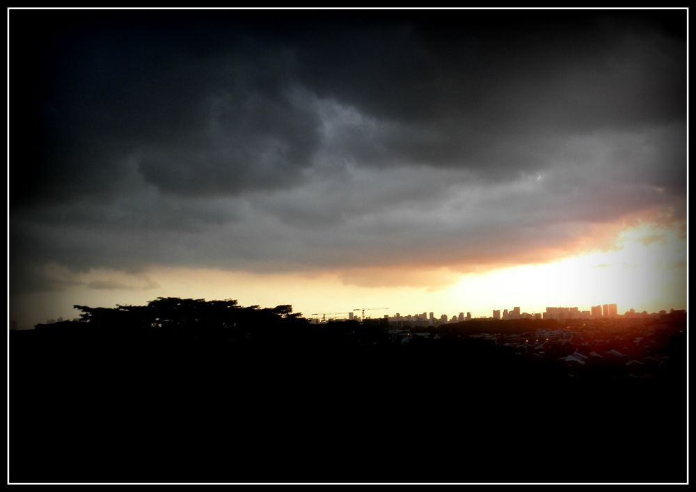 Gloomy Evening In My Hometown.. by Andysamm