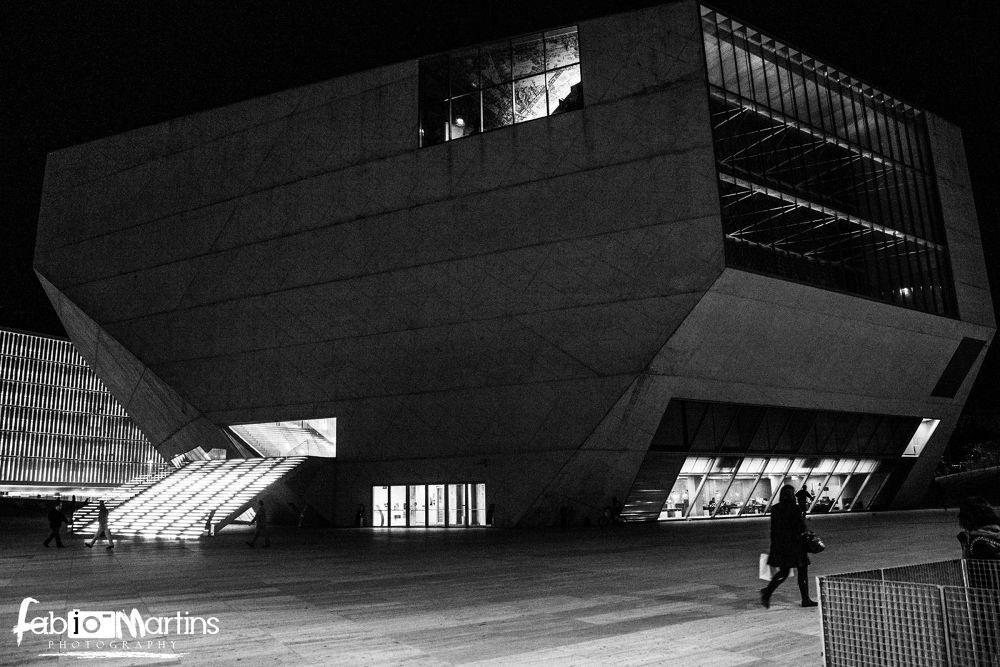 casa da musica  by Fotografo Fabio Martins