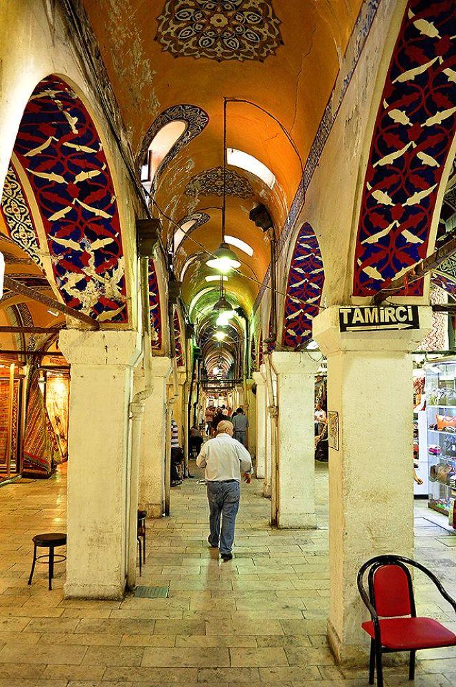 Grand Bazaar / Istanbul by kontizasdimitrios