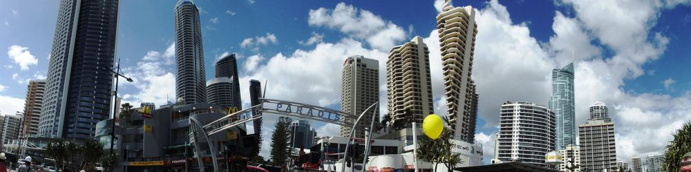 Surfers paradise by gordon veitch