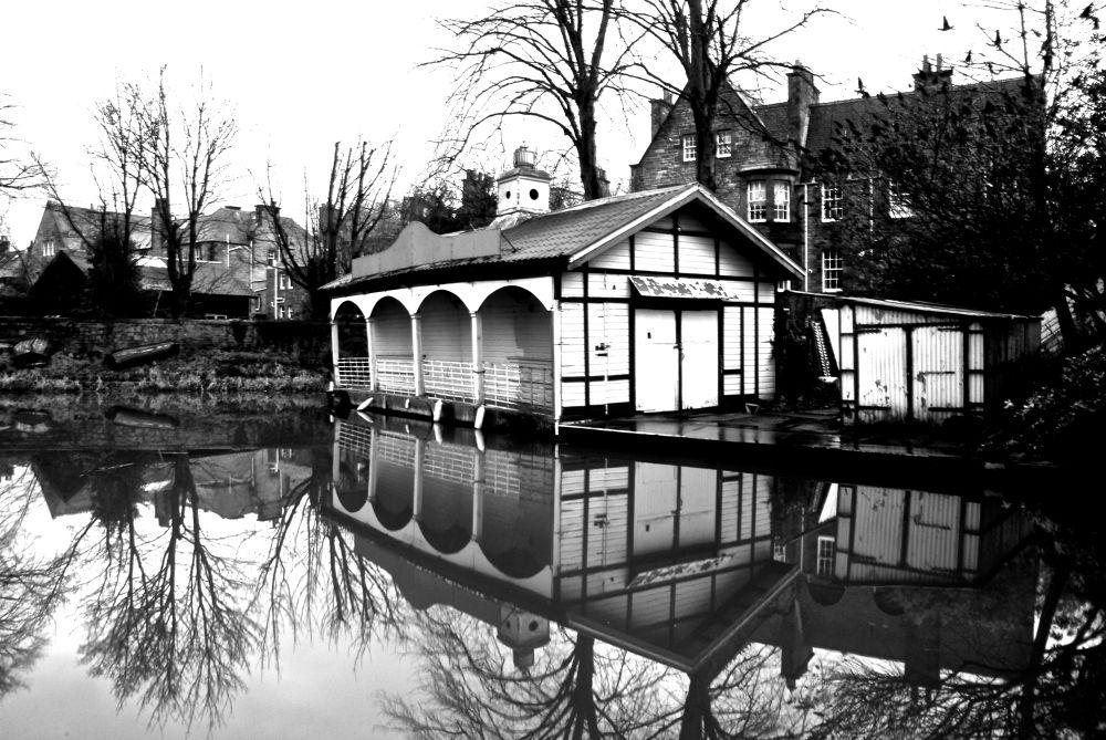 Boathouse. by gordon veitch