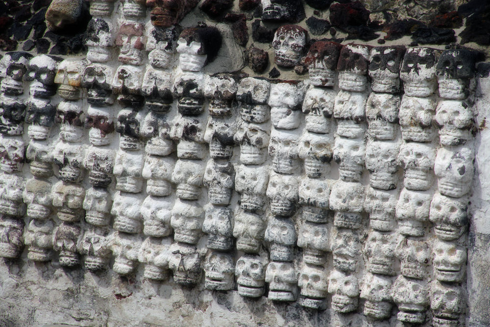 Wall of Skulls by Jim McCullaugh