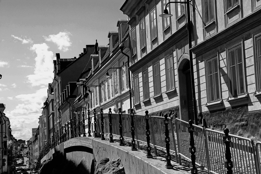 Photo in Black and White #sweden #stockholm
