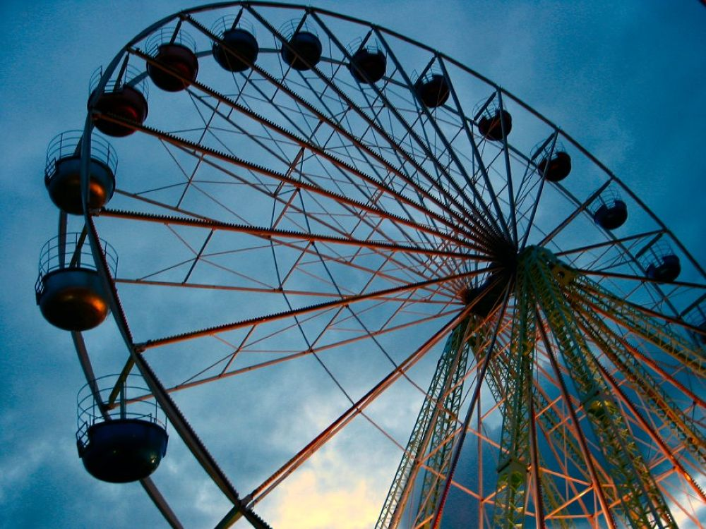 Galway Ferris Wheel by Jim McCullaugh