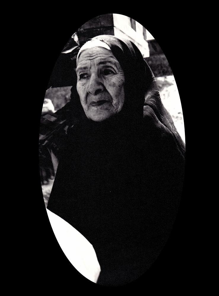 my geandmother by Aahmad Hezavei