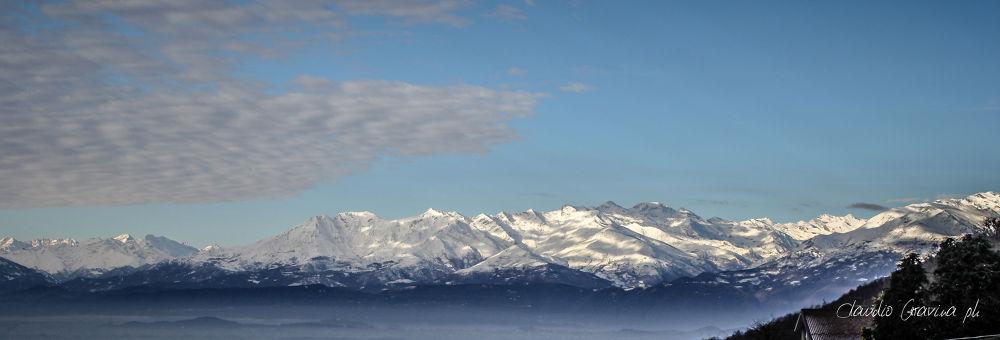 Snowy Alps. by ClaudioG