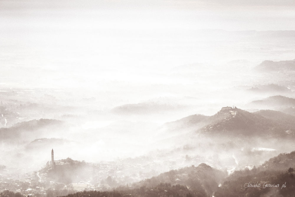 Nebbia in chiave alta by ClaudioG