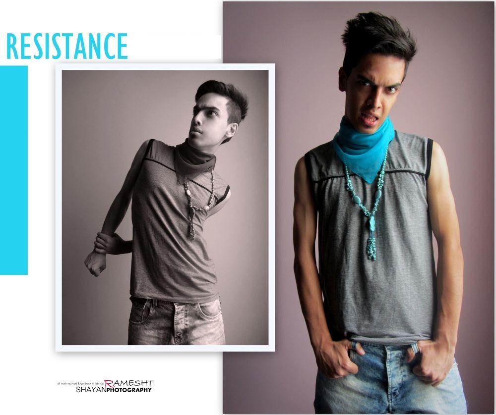 RESISTANCE by shayan ramesht