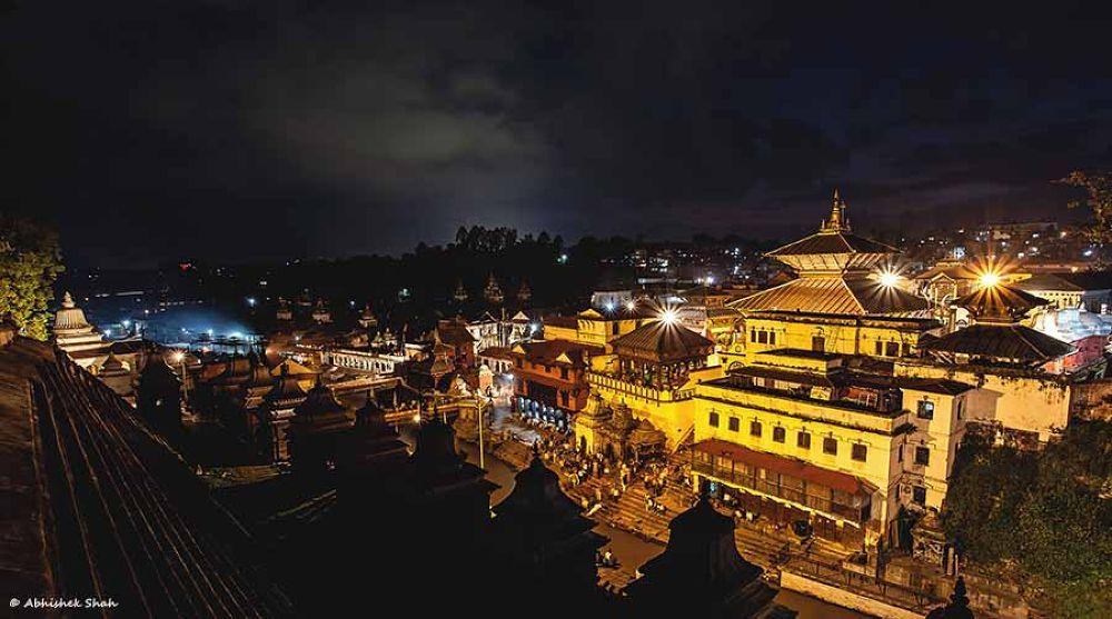 Photo in Random #pashupatinath temple #kathmandu #ancient #hindu #religious #nepal #shiva #god #colors #sky #cremation