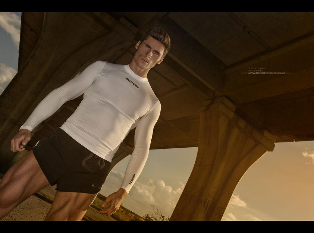 Alex - fitness model  by Daniel Corneanu
