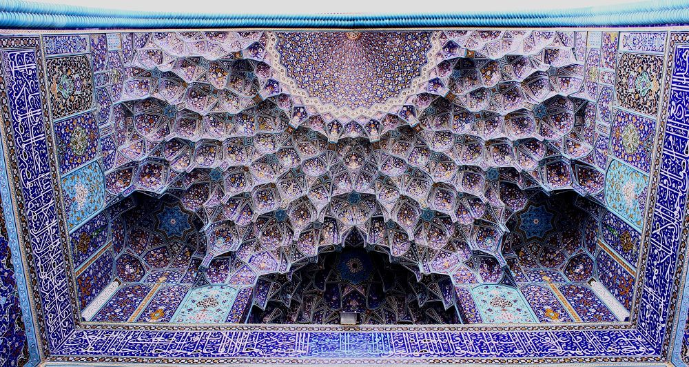 the blue porch by mohammad banna