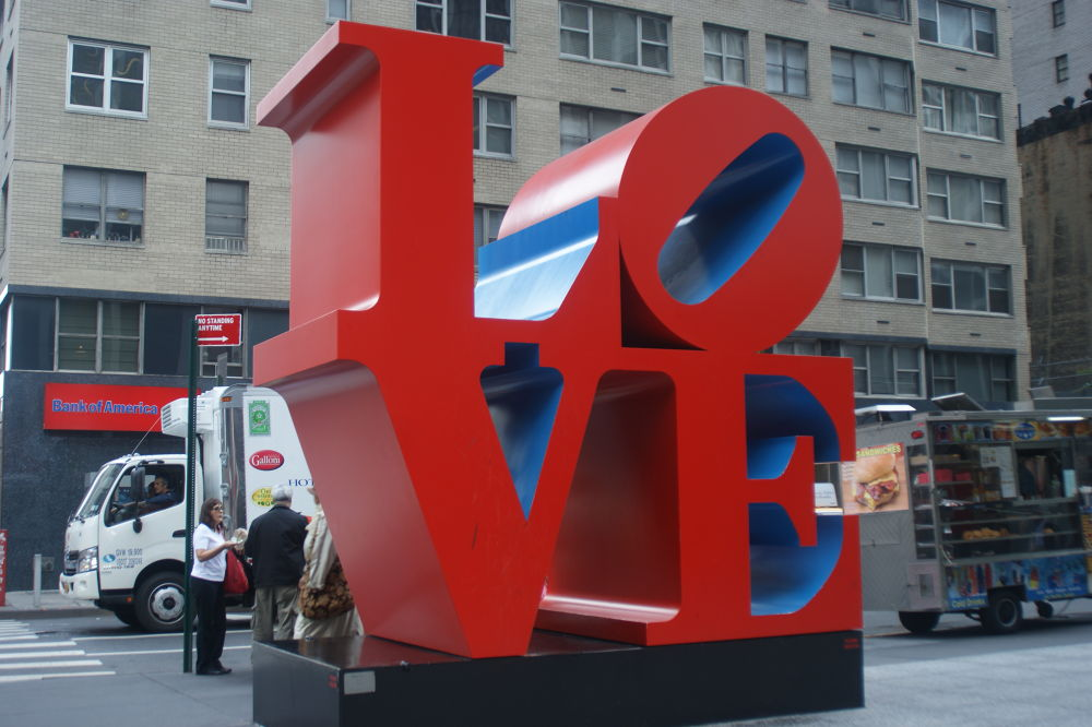 LOVE 6th Ave. New York City by Ramfis Baez
