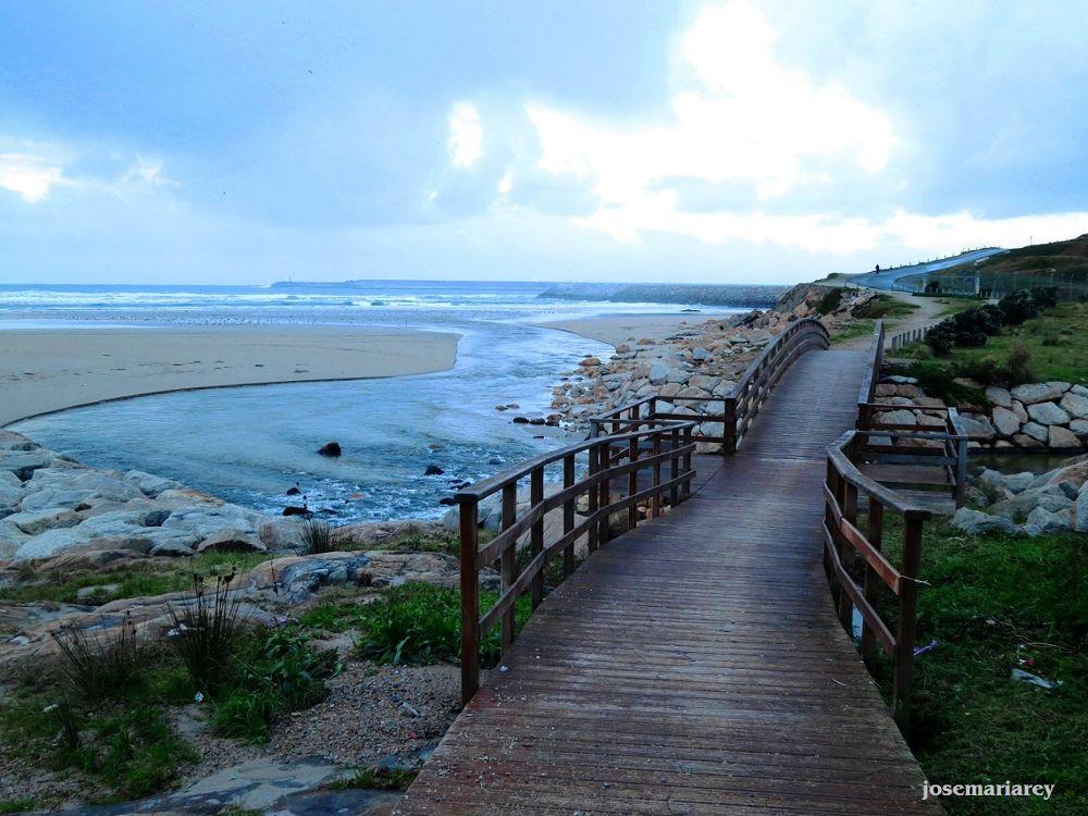 Anochecer en la playa by josemariareymontes