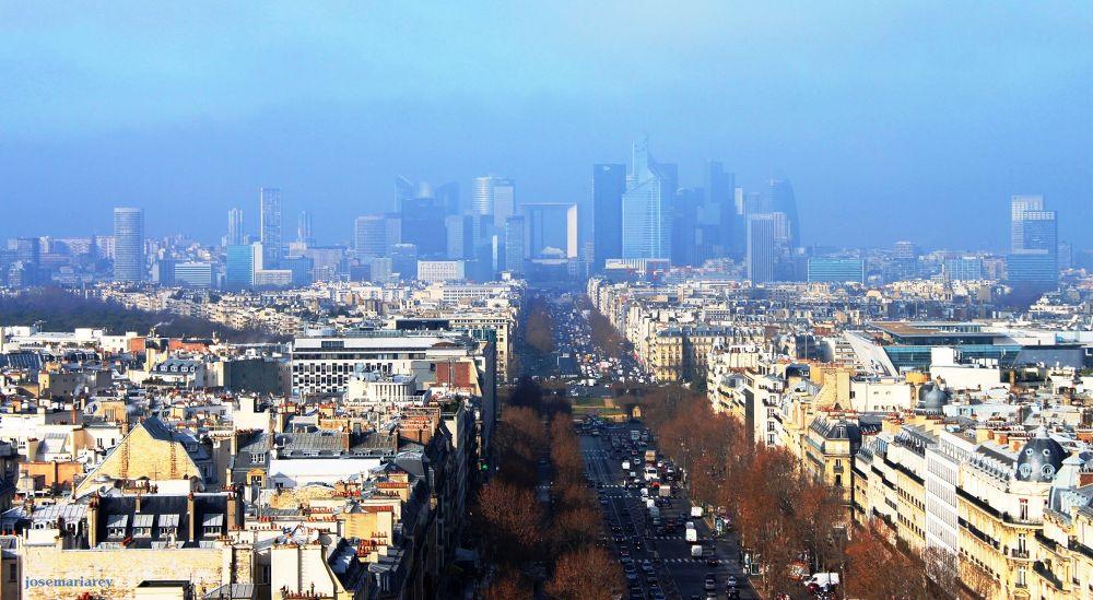 Picado sobre Paris by josemariareymontes