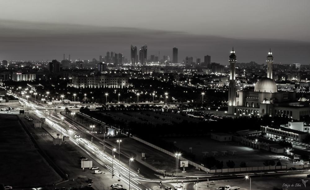 Black ana White City by Sithija De Silva
