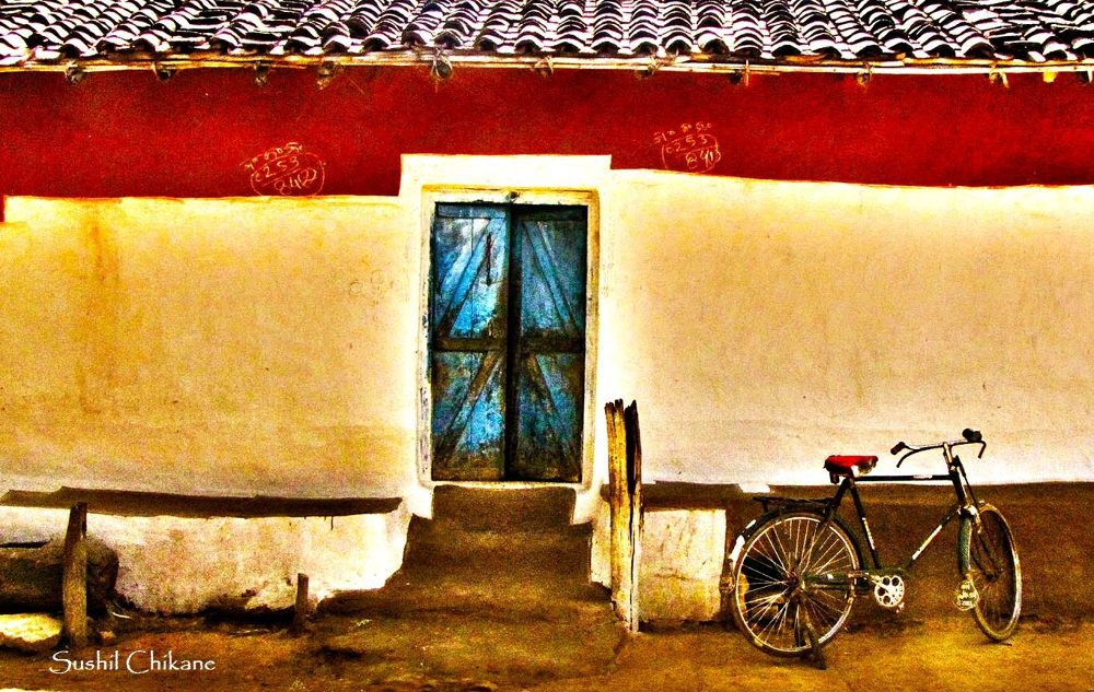 Wheels at the door by sushilchikane