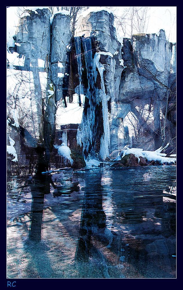 Frozen reflections by ruthchudaskaclemenz