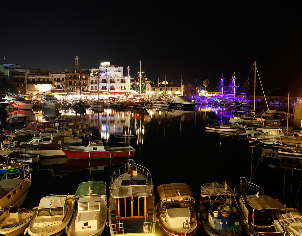 Port and Night by Turan Arslan