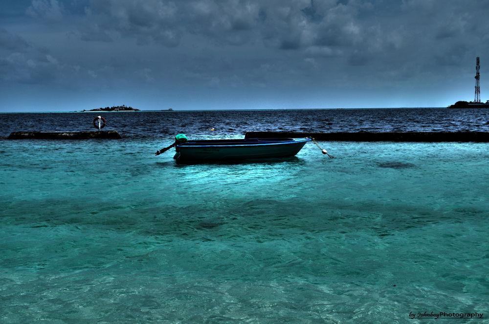 Lone Boat by Patrick Schubert